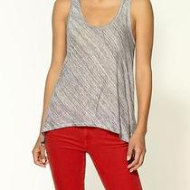 New Joie Breathe Jersey Tank Top Woman Sz S in Heather Grey Photo