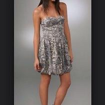 New Joie Designer Taurus Ceramic Strapless Dress Xs 378 Saks Fifth Ave Sold Out Photo