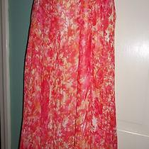 New - Jones New York Collection Petite- New Coral Skirt - 10p Photo