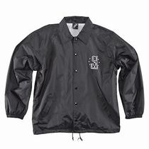 New Jslv Rascal Coaches Jacket Black Size Men's Xl Photo