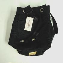 New Juicy Couture Black Hobo Tote Bag Handbag Purse Adjustable Strap Flash Sale Photo