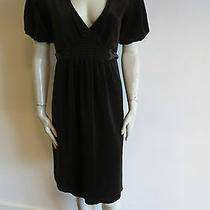 New Juicy Couture Dress Size M Velour Brown Not Lined Stretchy Photo