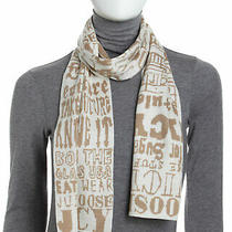 New Juicy Couture Graffiti Knit Scarf & Gloves     Gift  for Special Girl Photo