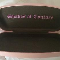 New Juicy Couture Pink Sunglasses Hard Case Super Cute Photo