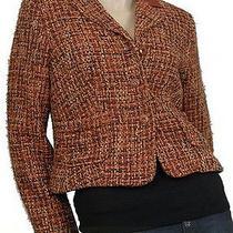 New Karen Kane Lifestyle Womens Jackets Tuscan Sunrise Brown Size L Photo