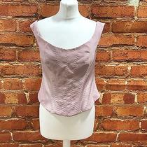 New Karen Millen Blush Pink Corset Vest Top Occasion Party Size Uk 10 15313 Photo