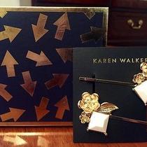 New  / Karen Walker  Flowers & Stones Hairclips Photo
