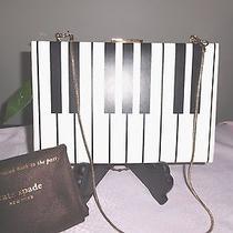 New Kate Spade Emanuelle Rose Circle Piano Keys Clutch Shoulder Bag Nwt & Duster Photo