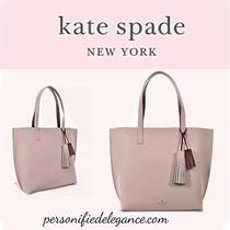 New Kate Spade Foster Court Tasha Leather Tote Pebble/true Red 399 Photo