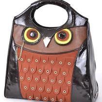 New Kate Spade Maximillian Maxwell Leather Owl Purse Tote Handbag Photo