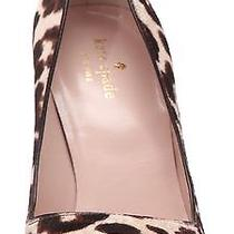 New Kate Spade New York Licorice Too Leather Pump - Blush Brown 328 Size 9.5 Photo