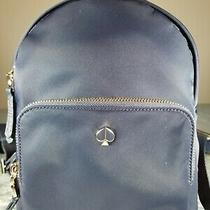 New Kate Spade Taylor Small Backpack - Navy Blue  Photo