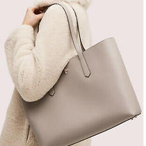 New Kate Spade Womens Molly Large Work Tote Laptop Shoulder Bag True Taupe Gift Photo