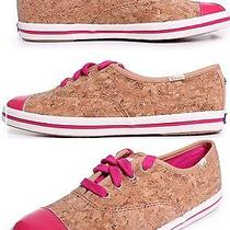New Keds Kate Spade New York Corkie Cork Hot Pink Tennis Shoes Sneakers 8.5 6 Uk Photo