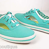 New Keds Light Green Womens Fashion Cut-Out Athletic Shoes Size 10 M Photo