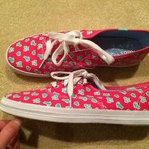 New Keds Taylor Swift Favorite Things Tennis Shoes/sneakers Pink/teal 9 Cat/bow Photo