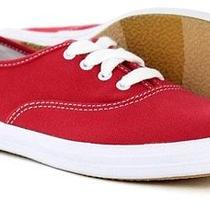 New Keds Wf31300 Champion Red Canvas Shoes Size 8 8.5 Medium Sneakers Women's Photo