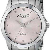 New Kenneth Cole New York Kc4830 Women's Silver Stainless Steel Quartz Watch Photo