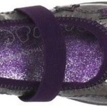 New Kenneth Cole Reaction Prize N Shine 2 Girls Toddler Pewter Purple Mary Jane Photo