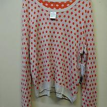 New - Kensie Polka Dot Sweater - Size Xl - Macy's - Msrp - 68 Photo
