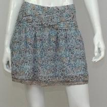 New Kensie Women's Mini Blue Skirt 10 Photo