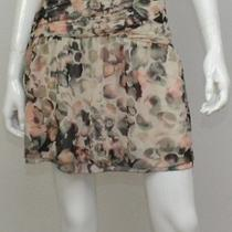 New Kensie Women's Mini Flower Print Skirt 10 Photo