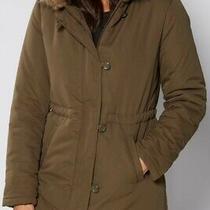 New Khaki Parker Style Coat Size 14 Photo