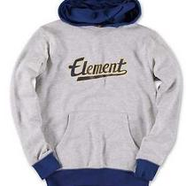 New Kids / Boys Xl Element Rise Gray Pullover Hoodie Skate Sweatshirt Photo