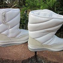 New Kids Snow Boots White by Aldo Photo