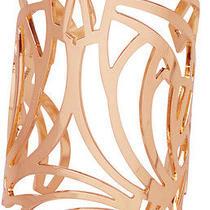 New Kookai Harbour Cuff Wrist Rose Gold Statement Piece Bangle Bracelet Metal Photo