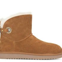 New Koolaburra by Ugg Women's Remley Mini Boots Chestnut Suede Size 11 Us Photo