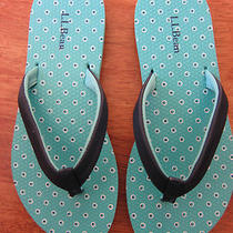 New L.l. Bean Flip Flop Size 5/6 Photo