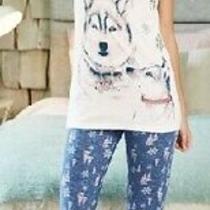 New Ladies Avon Husky Pyjamas Pj's 6-8 Christmas Stocking Gift  Photo