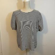 New Ladies Black and White Shirt Size Xl by Dolan Knit Top Anthropology Photo
