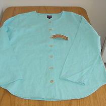 New Ladies Junior Women's Large Tuscan Elements Shirt Blouse Nice  Photo