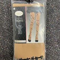 New Ladies Novelty Stitches Tights - Size Medium - Fancy Dress Cosplay Halloween Photo