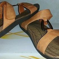 New Ladies Orthaheel Layla Rust Slide Sandal Size 10 Pain Relief Therapy Photo