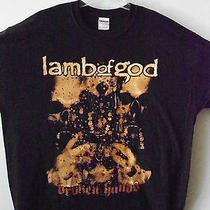 New Lamb of God Band / Concert / Music T-Shirt Extra Large Photo