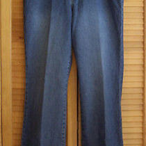 New Land's End Boot Cut w's Jeans Size 10t Photo
