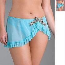 New Lane Bryant Cacique Ruffle Mesh Lingerie Skirt 22-24 Photo