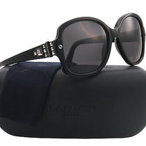 New Lanvin Sunglasses Women Sln 510sn Black 700 Lv510sn 55mm Photo