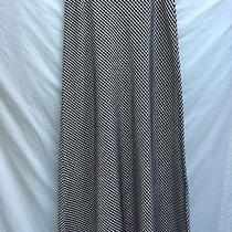 New Laundry Lined Acetate Taffeta Gingham Maxi Skirt Size 6 Photo