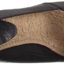 New Lauren Ralph Lauren Women's Cecilia Wedge Espadrille sandalblack7.5 M Photo