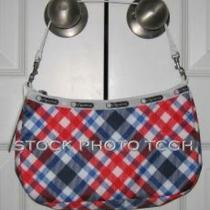 New Lesportsac 7604 Niki  American Plaid Nwt Photo
