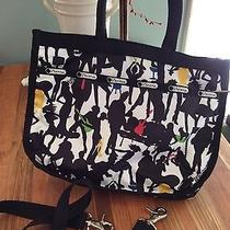 New Lesportsac Anne Groupie Bag Tote Crossbody 2008 Winter Collection Retired Photo