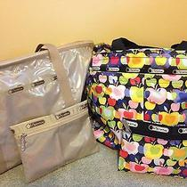 New Lesportsac Everygirl Tote and Other Tote Bag Lot With Matching Pouches Photo