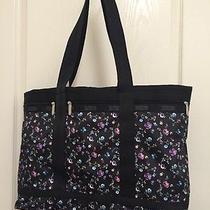 New Lesportsac Large Travel Tote Bag Duffel Hope Rose 104 Photo