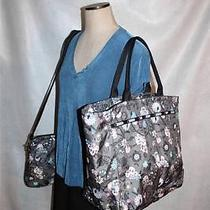 New Lesportsac Le Sport Sac Xltote Bag & Computer Messenger Bag Jewelry Pattern Photo