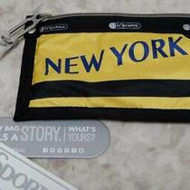 New  Lesportsac New York Red Apple 2258 Soft Card Case Pouch Photo