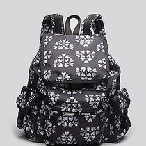 New Lesportsac Voyager Lightweight Backpack Heat Shape Blossoms Floral Pattern Photo